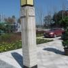 广场环境雕刻石材柱子 浮雕效果