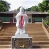 孔子石雕像(白色全身人像雕刻)