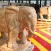 大理石大象雕刻