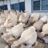 喷水池石材雕刻 水鸭子 天鹅等动物造型雕刻