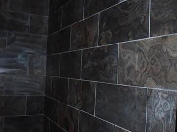 奥巴马木纹大理石卫生间墙面装饰