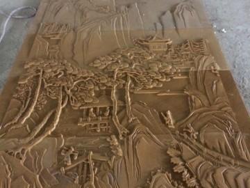 黄砂岩浮雕 平雕成品