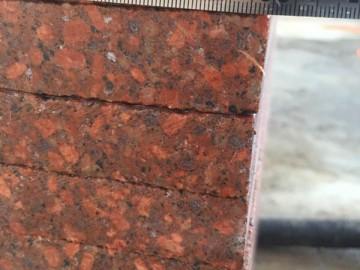 映山红花岗岩厚板 成品