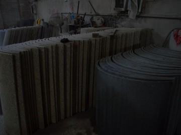 石材圆柱弧形板批发 花岗岩空心柱