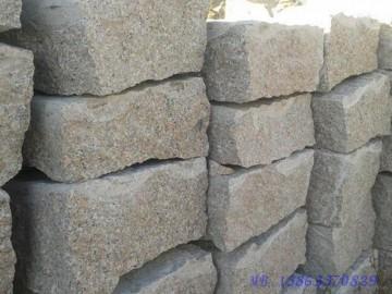 山东五莲花岗岩护坡石