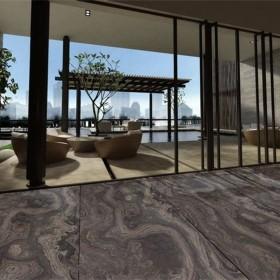 奥巴马木纹反切效果地铺地板
