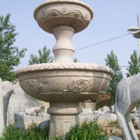 喷水池 石材雕刻喷泉