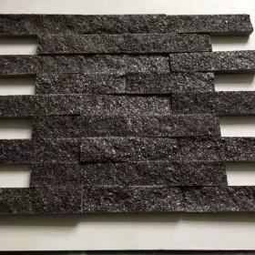 绿金沙花岗岩供应 文化石应用效果
