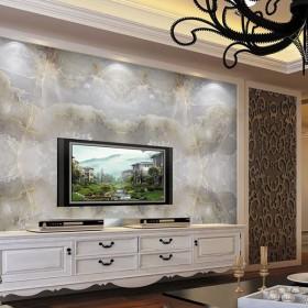 大理石电视背景墙