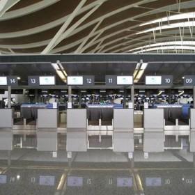 芭拉白机场动车站地铺应用