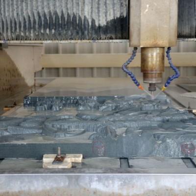 青石浮雕自动浮雕加工 水头石材雕刻加工厂