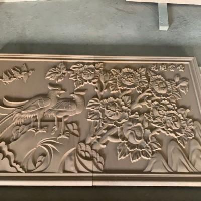 花开富贵浮雕(大理石+砂岩+玉石材质)