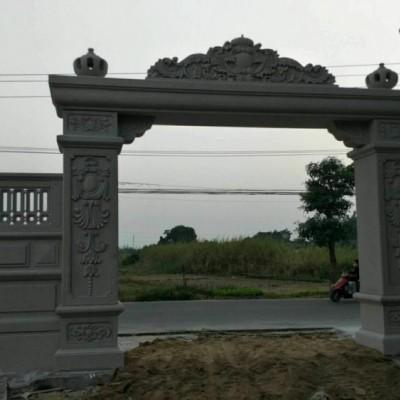 别墅大门石雕 浮雕大门