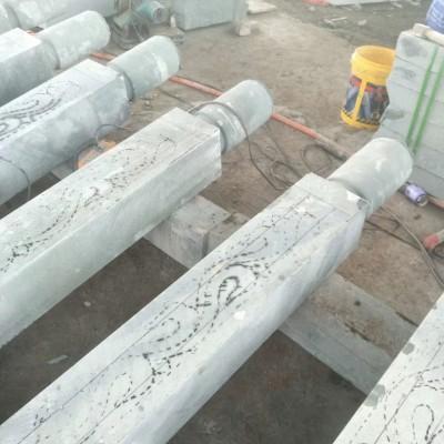 达州青石栏杆 河栏杆 护栏板柱子