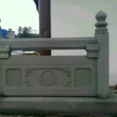 青石围栏护栏 寺庙栏杆装饰