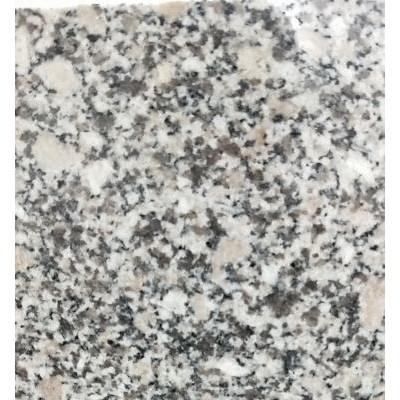 梨花白白麻花岗岩磨光面 花岗岩楼梯石工程外挂石材
