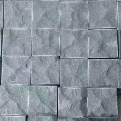 泰顺青石马蹄石 小方块 自然面