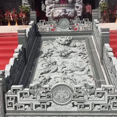 万源青石雕刻 寺庙青石石雕