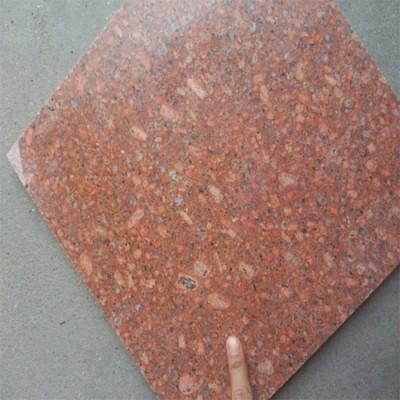 代代红石材映山红富贵红花岗岩石材水头石材批发点