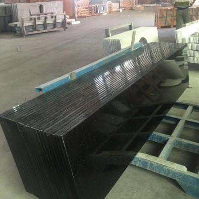 新品黑色花岗岩 金刚黑超大规格台面板