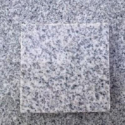 湖北芝麻白光面石材样品
