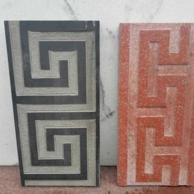 雅蒙黑 中国红花岗岩花线样品