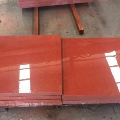 中国红磨光面外墙干挂成品