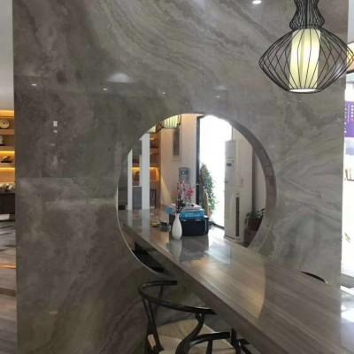 咖啡木纹室内设计