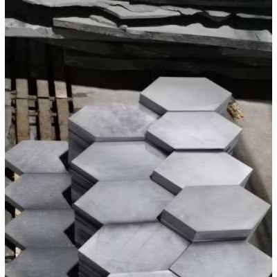 四川青石六边形地砖