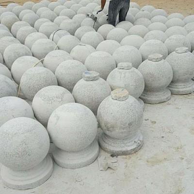 花岗岩圆球加工