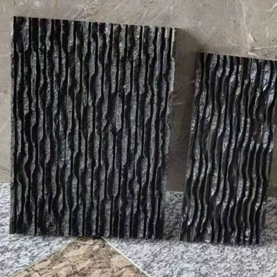 黑色石材流水板 四川宜宾黑
