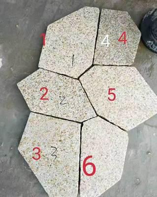 花岗岩地铺:冰裂纹vs马蹄石,哪种铺装效果好看?