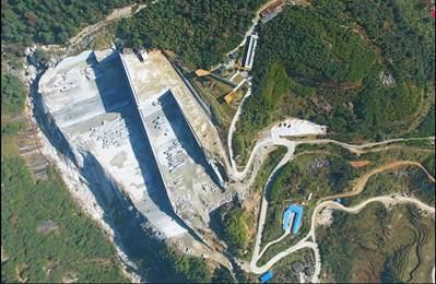 """高标准绿色石材矿山示范-""""两山""""理念引领富强石材矿山之路"""